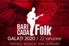 Baricada folk galati front