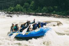 Rafting front