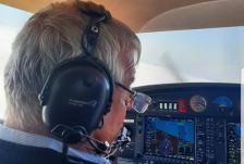 Pilot o zi front