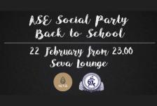 Ase social party 2019 front