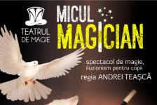 Micul magician spectacol de magie pentru copii