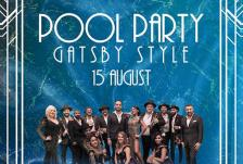 Pool party gatsby style front