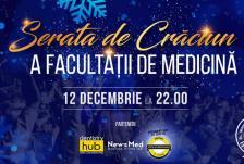 Serata Craciun facultate medicina front