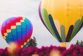 Zbor balon front
