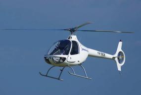 Zbor tuzla elicopter cabri front