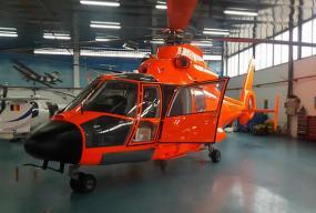 Zbor tuzla elicopter dauphin front