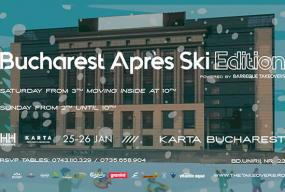Bucharest apres ski front