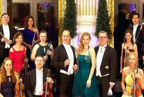 Virtuozii Johann Strauss front bucuresti