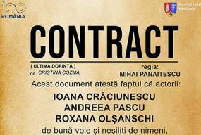 Contract deva teatru front