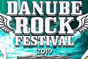 Danube rock festival 2019 front