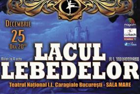Lacul lebedelor balet clasic 2018 front