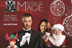 Christmas magic show teatrul de magie afis2