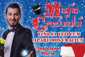 Magia craciunului magicianul mario front