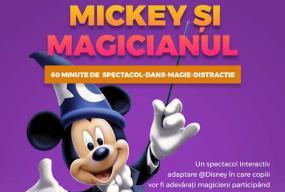 Mickey si magicianul front oradea