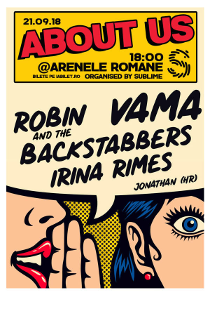 About us arenele romane afis
