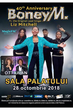 Boney m concert sala palatului 2018 afis 2
