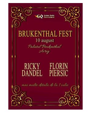 Brukenthal fest afis
