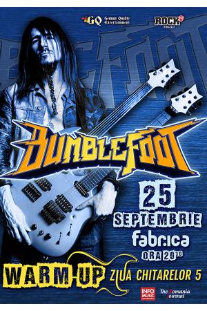 Bumblefoot concert septembrie 2017
