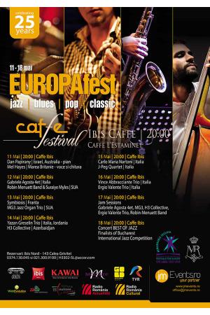 Cafe festival europafest 2018