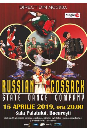 Cazacii rusiei bucuresti 2019 afis