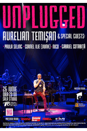 Concert aurelian temisan unplugged iunie2017