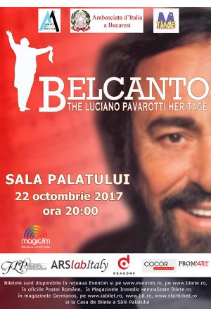 Concert belcanto pavarotti heritage bucuresti 2017