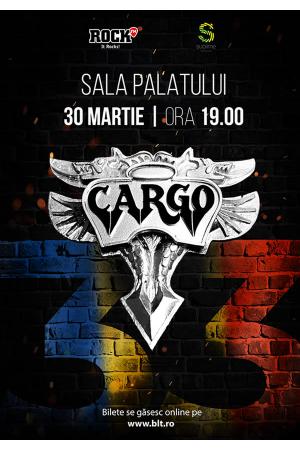 Concert cargo sala palatului 2018