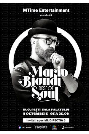 Concert mario biondi bucuresti 2017