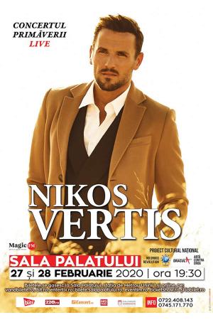 Concert nikos vertis afis 2020