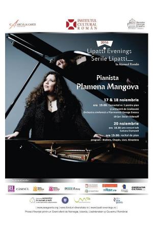 Concert Plamena Mangova ateneul roman