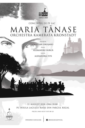 Concert tango simfonic bran alexandra fits poster