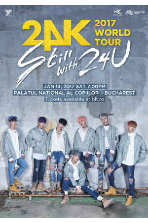 24k world tour concert bucuresti