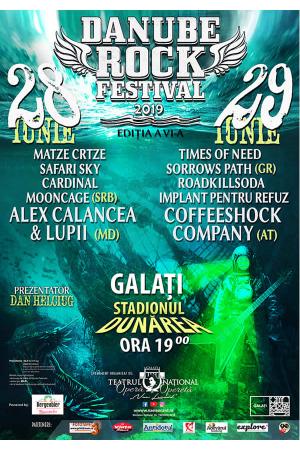 Danube rock festival 2019 afis2