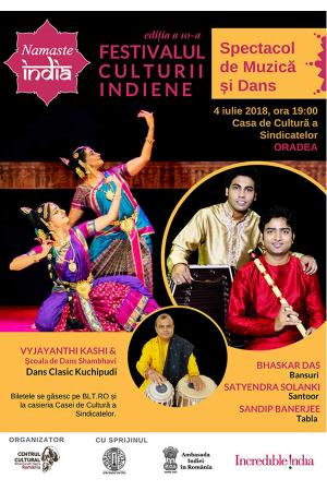Festivalul culturii indiene oradea afis