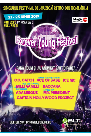 Forever young festival bucuresti 2019 afis2