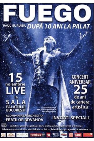 Fuego concert aniversar 2019 afis