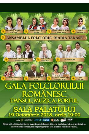 Gala folclorului romanesc dansul muzica portul