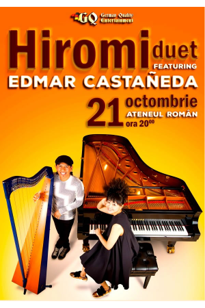 Hiromi edmar castaneda concert ateneul roman 2017