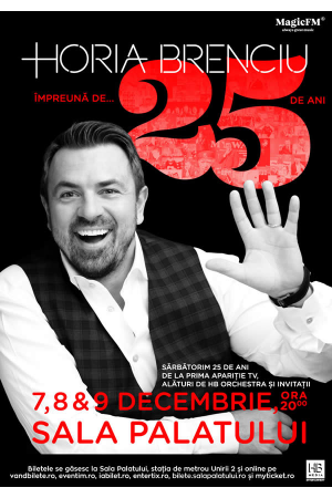 Horia brenciu 25 ani concert afis
