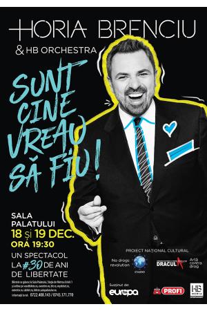 Horia brenciu concert 18 19 decembrie afis