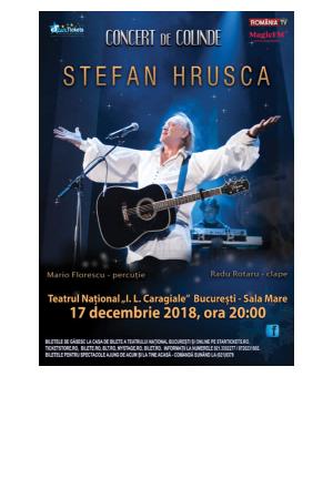 Hrusca concert craciun colinde 2018 afis