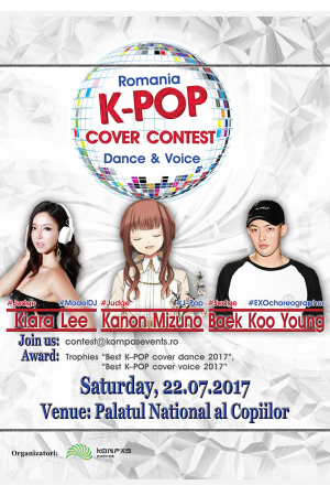 K pop cover contest bucuresti 2017