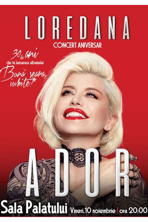 Loredana ador noiembrie 2017 concert sala palatului