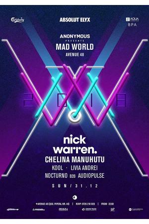 Mad world revelion 2018 avenue 48