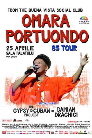 Omara portuondo concert aprilie 2017
