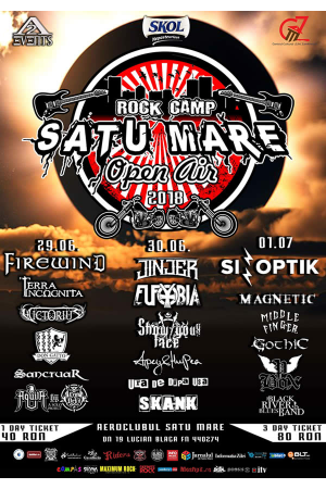 Satu mare rock camp afisnou