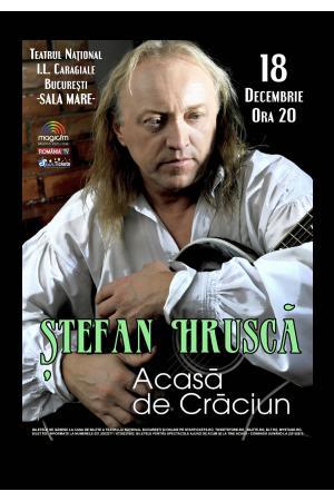 Stefan hrusca acasa de craciun 2017