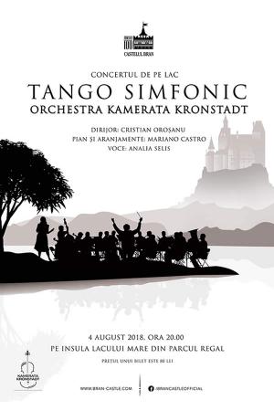 Tango simfonic castelul bran afis