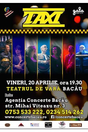 Taxi concert bacau afis