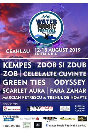 Water music festival ceahlau 2019 afis